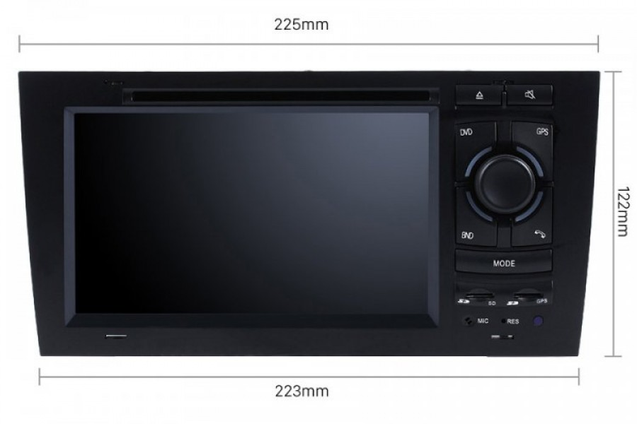 Audi A6/S6/RS6 1997-2005 Autoradio GPS Aftermarket Android Head Unit Navigation Car Stereo