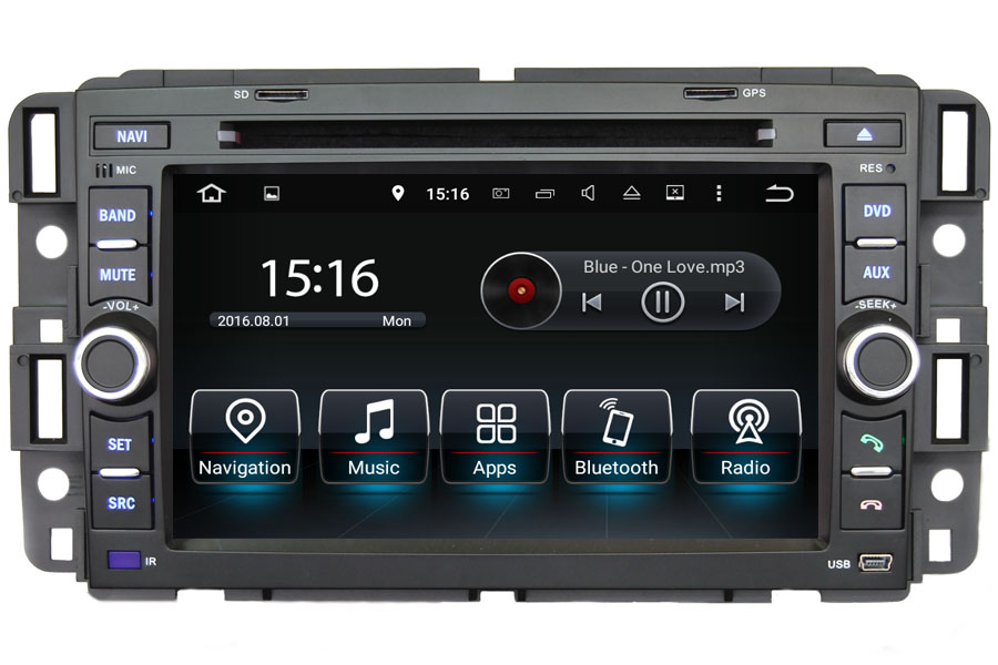 Hummer H1/H2 2008-2013 Autoradio GPS Aftermarket Android Head Unit Navigation Car Stereo