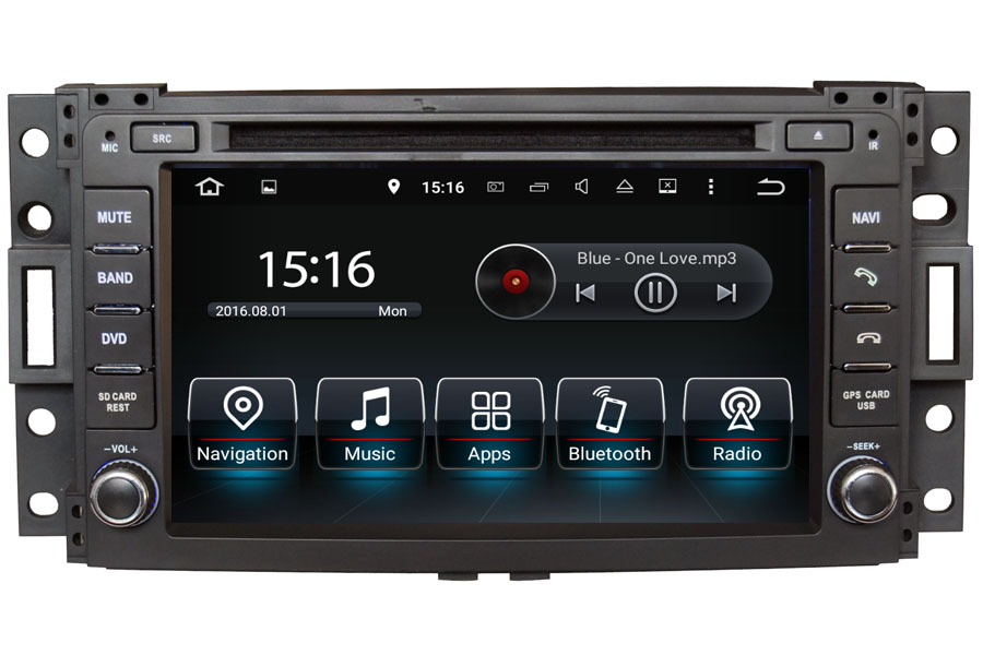 Hummer H3 2006-2013 Autoradio GPS Aftermarket Android Head Unit Navigation Car Stereo
