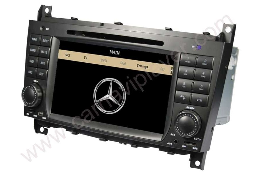 Mercedes-Benz C-W203 CLK-W209 2004-2007 Autoradio GPS Aftermarket Android Head Unit Navigation Car Stereo