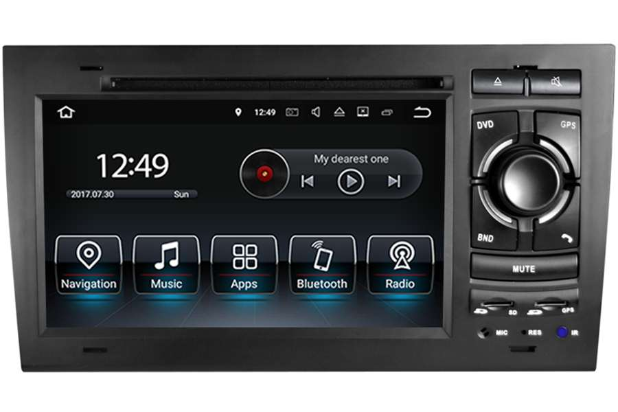 Audi A4/S4/RS4 2002-2008 Autoradio GPS Aftermarket Android Head Unit Navigation Car Stereo