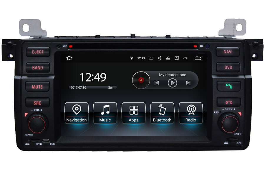 BMW 3 Series (E46) 1998-2006 Autoradio GPS Aftermarket Android Head Unit Navigation Car Stereo