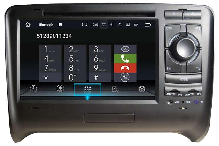 Audi TT/TTS 2006-2013 Autoradio GPS Aftermarket Android Head Unit Navigation Car Stereo