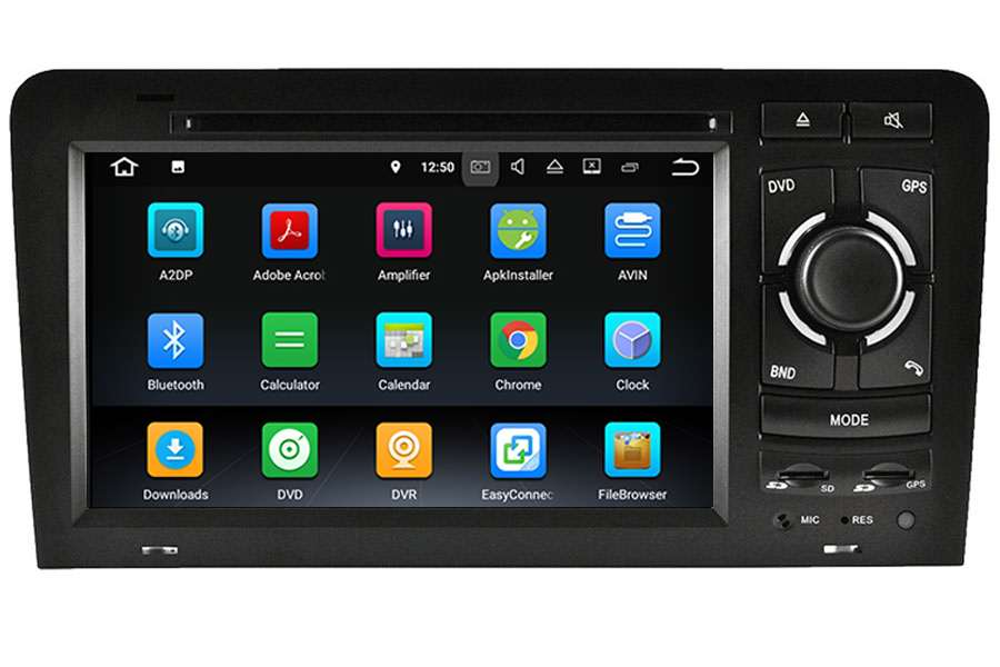 Audi A3/S3/RS3 2003-2013 Autoradio GPS Aftermarket Android Head Unit Navigation Car Stereo