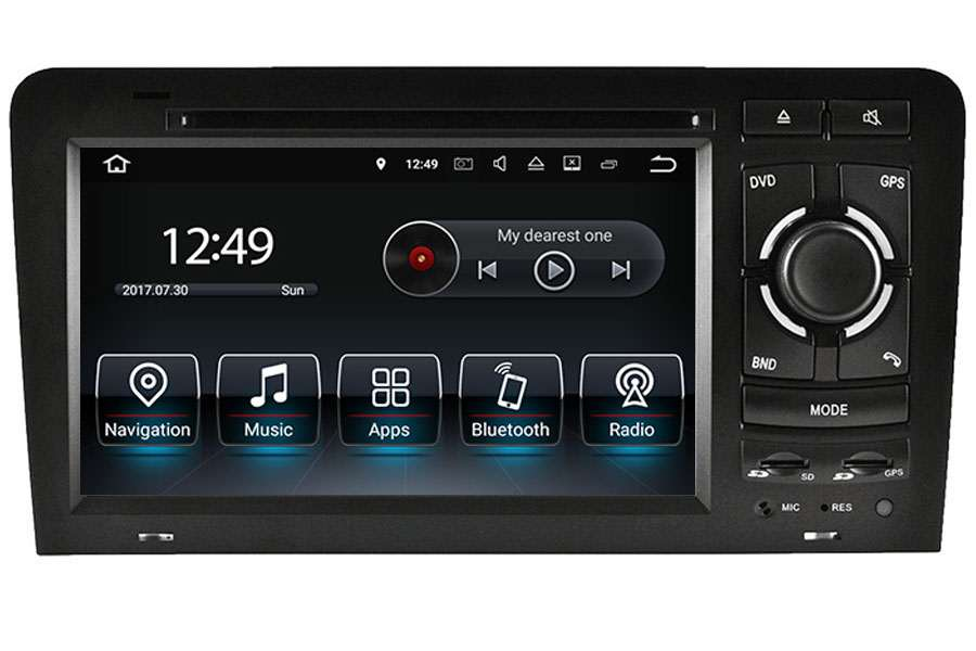 Audi A3 S3 RS3 2003 to 2013 radio upgrade aftermarket Head Unit