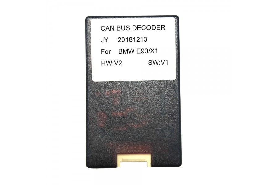 Canbus decoder for BMW 3 series E9x