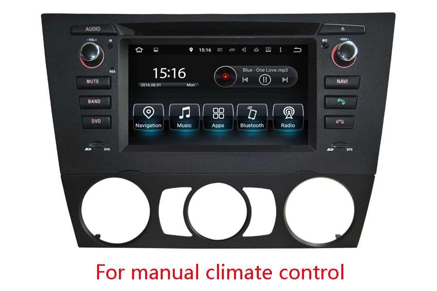 BMW 3 Series (E90/E91/E92/E93) 2005-2013 Autoradio GPS Aftermarket Android Head Unit Navigation Car Stereo