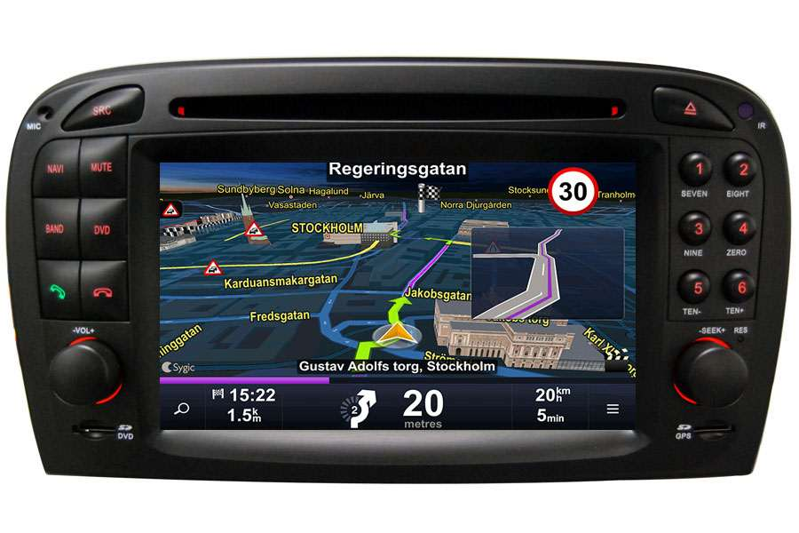 Mercedes-Benz Series 1998-2010 Autoradio GPS Aftermarket Android Head Unit Navigation Car Stereo