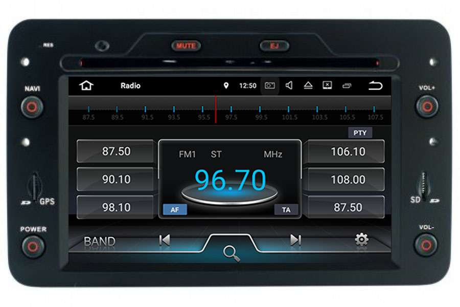Alfa Romeo 159/Brera/Spider 2005-2013 Autoradio GPS Aftermarket Android Head Unit Navigation Car Stereo
