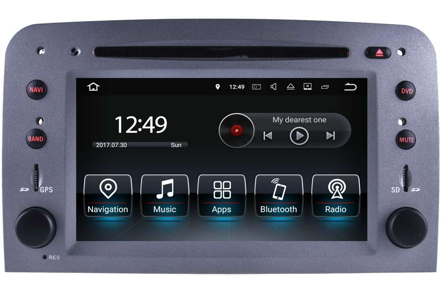 Alfa Romeo 147 GT Android Navigation Car Stereo head unit upgrade
