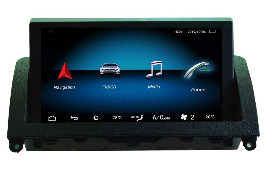 Mercedes-Benz C-Class (W204) 2007-2011 Autoradio GPS Aftermarket Android Head Unit Navigation Car Stereo