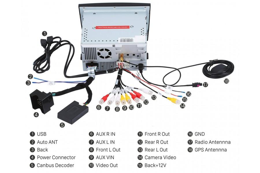 Porsche 911/997/Boxster/Cayman 2005-2009 Autoradio GPS Aftermarket Android Head Unit Navigation Car Stereo