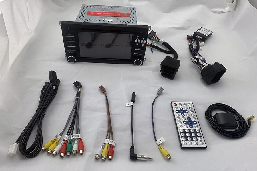 Porsche Cayenne 2003-2010 Autoradio GPS Aftermarket Android Head Unit Navigation Car Stereo