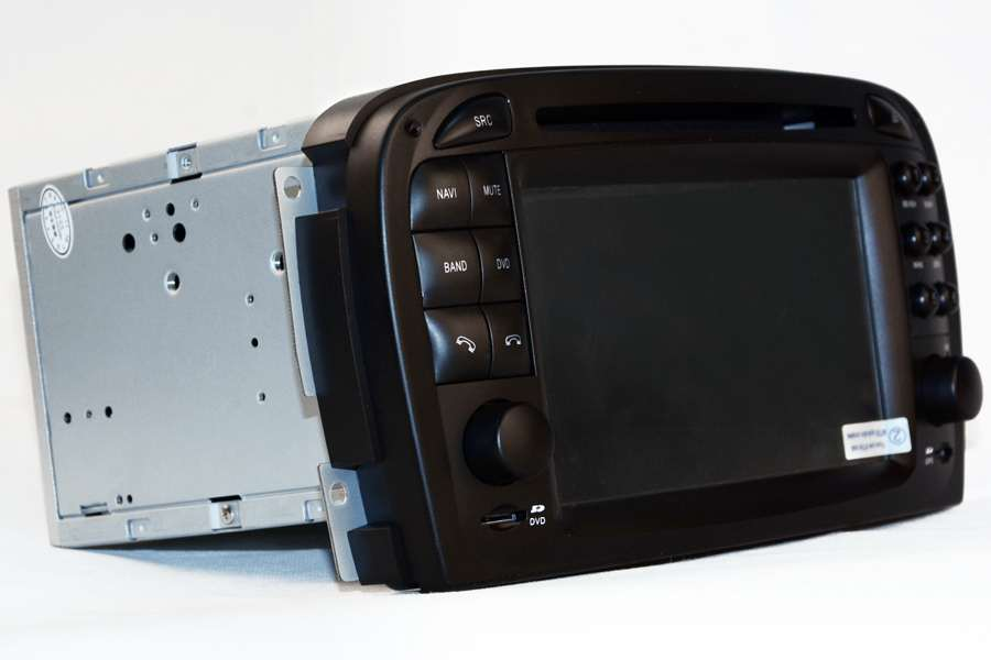 Mercedes-Benz SL-Class (R230) 2001-2005 Autoradio GPS Aftermarket Android Head Unit Navigation Car Stereo