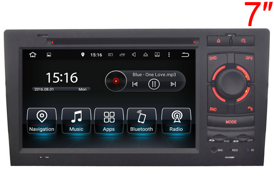 Audi A8/S8/RS8 1999-2004 Autoradio GPS Aftermarket Android Head Unit Navigation Car Stereo