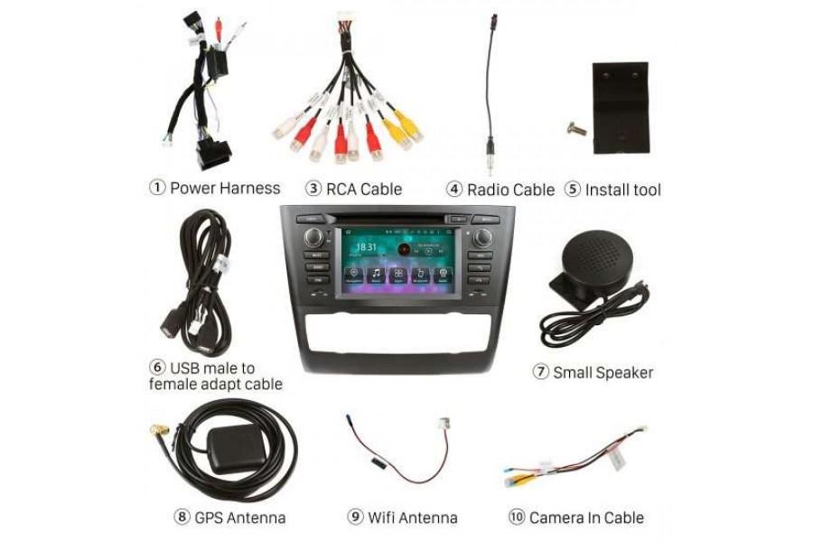 BMW 1 Series (E81/E82/E87/E88) 2004-2013 Autoradio GPS Aftermarket Android Head Unit Navigation Car Stereo