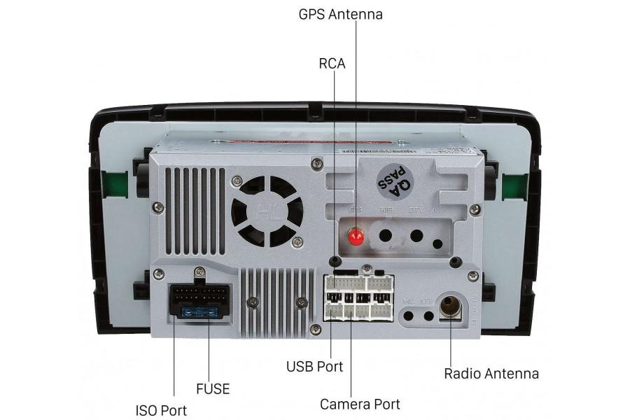 Mercedes-Benz GL-Class (X164)/ML-Class (W164) 2005-2012 Autoradio GPS Aftermarket Android Head Unit Navigation Car Stereo