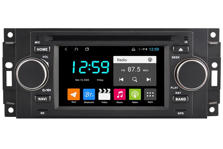 Dodge Series 2002-2008 Autoradio GPS Aftermarket Android Head Unit Navigation Car Stereo