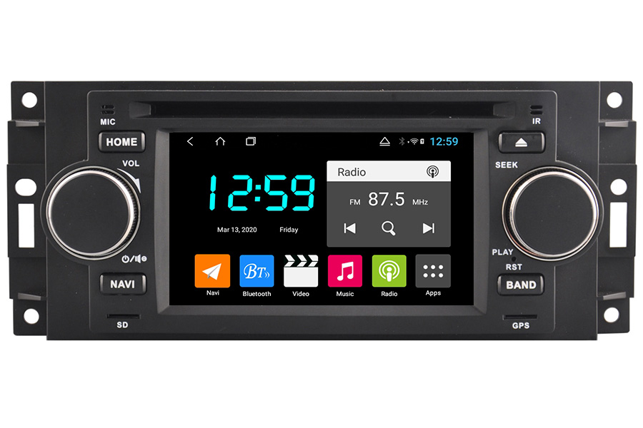 Jeep Series 2002-2012 Autoradio GPS Aftermarket Android Head Unit Navigation Car Stereo