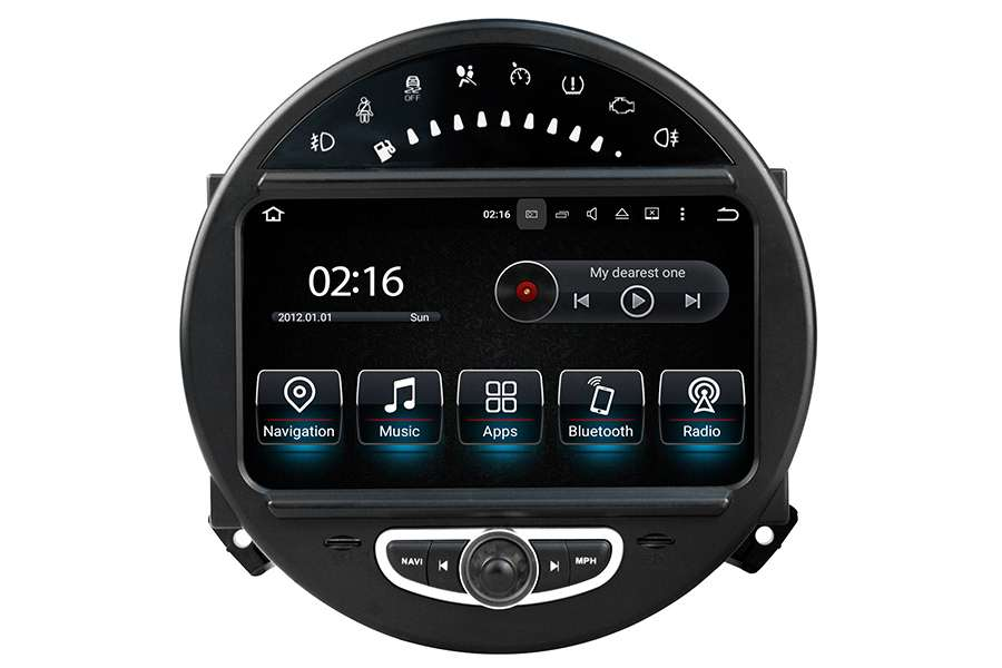 MINI Cooper 2006-2014 radio upgrade GPS Aftermarket Android Head Unit Navigation Car Stereo