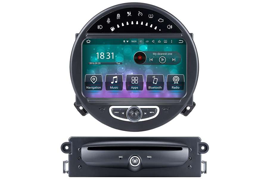 MINI Cooper 2006-2014 Autoradio GPS Aftermarket Android Head Unit Navigation Car Stereo