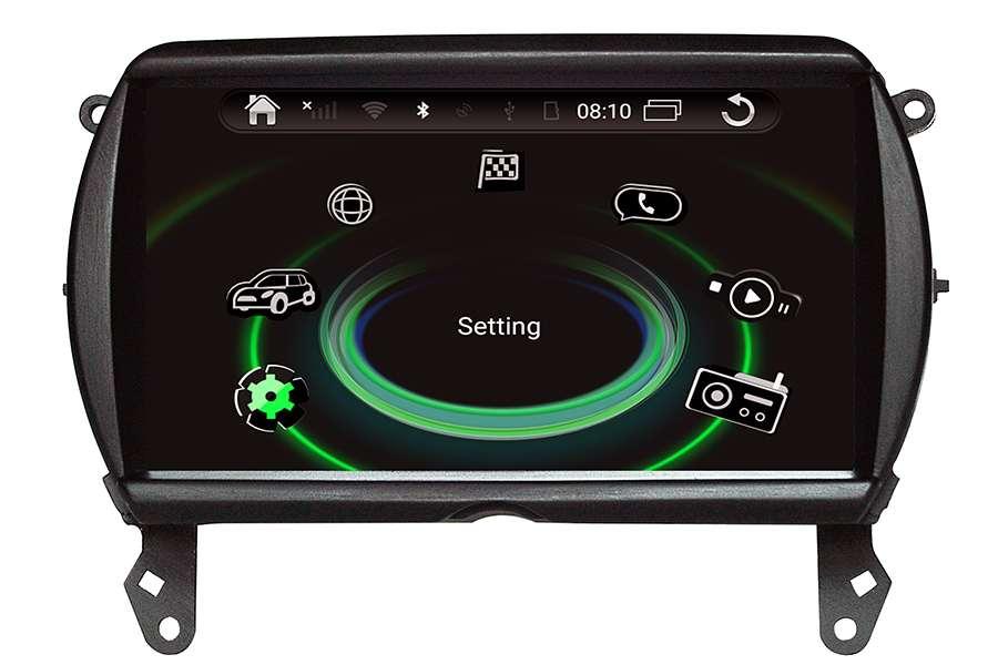 MINI Cooper 2014-2017 Autoradio GPS Aftermarket Android Head Unit Navigation Car Stereo