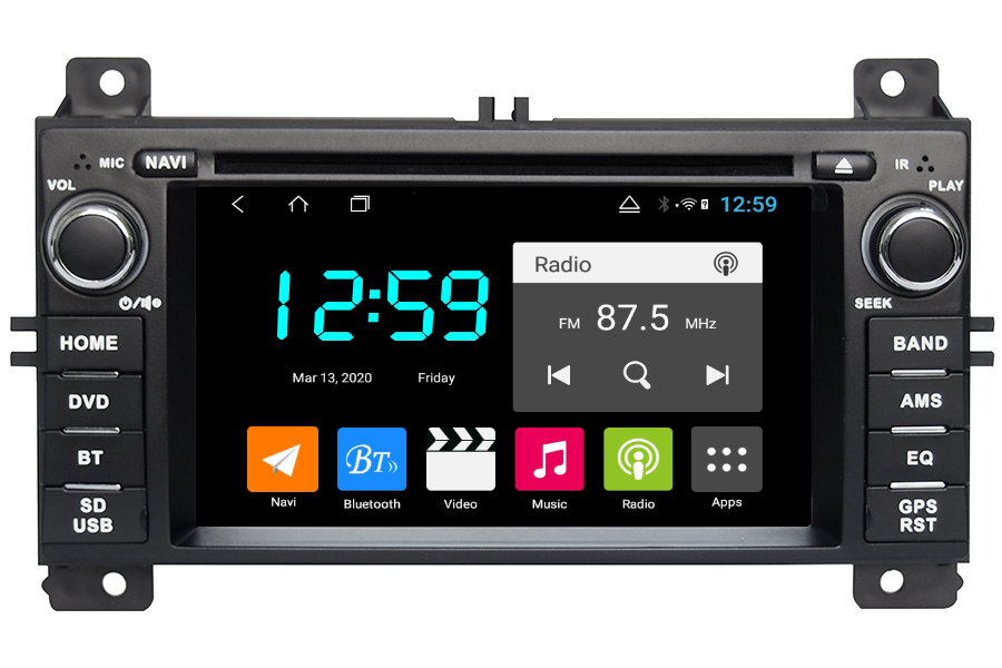 Jeep Grand Cherokee 2011-2013 Autoradio GPS Aftermarket Android Head Unit Navigation Car Stereo