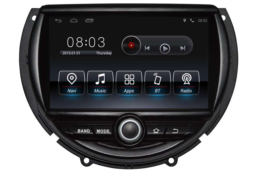 MINI Cooper 2014-2016 Autoradio GPS Aftermarket Android Head Unit Navigation Car Stereo