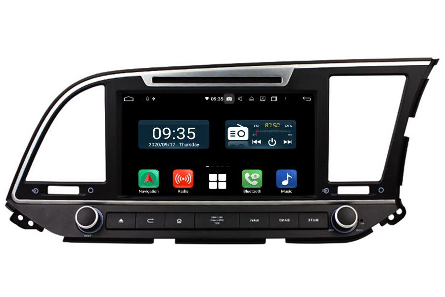Hyundai Elantra 2016-2018 RHD Aftermarket Radio Upgrade