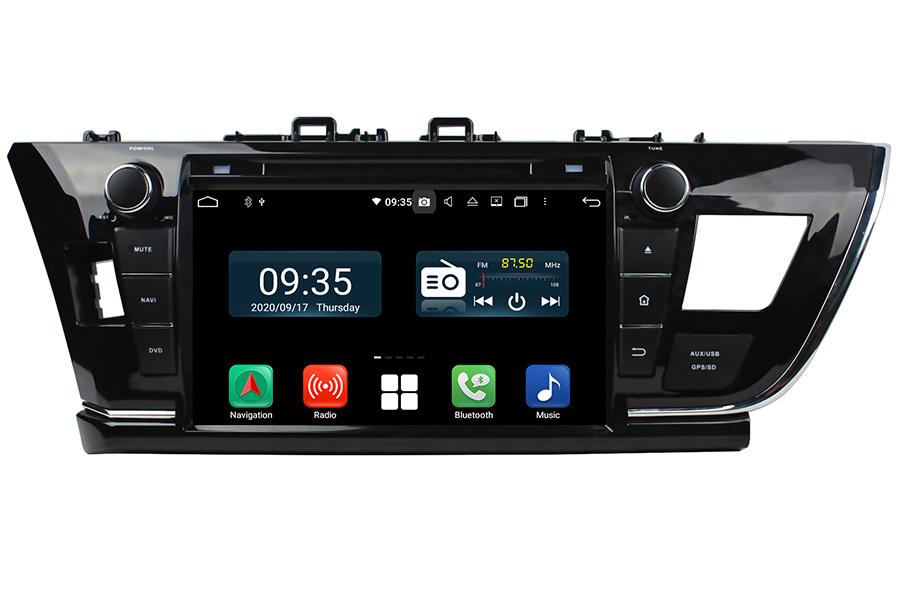 Toyota Corolla 2013-2016 LHD Aftermarket Radio Upgrade
