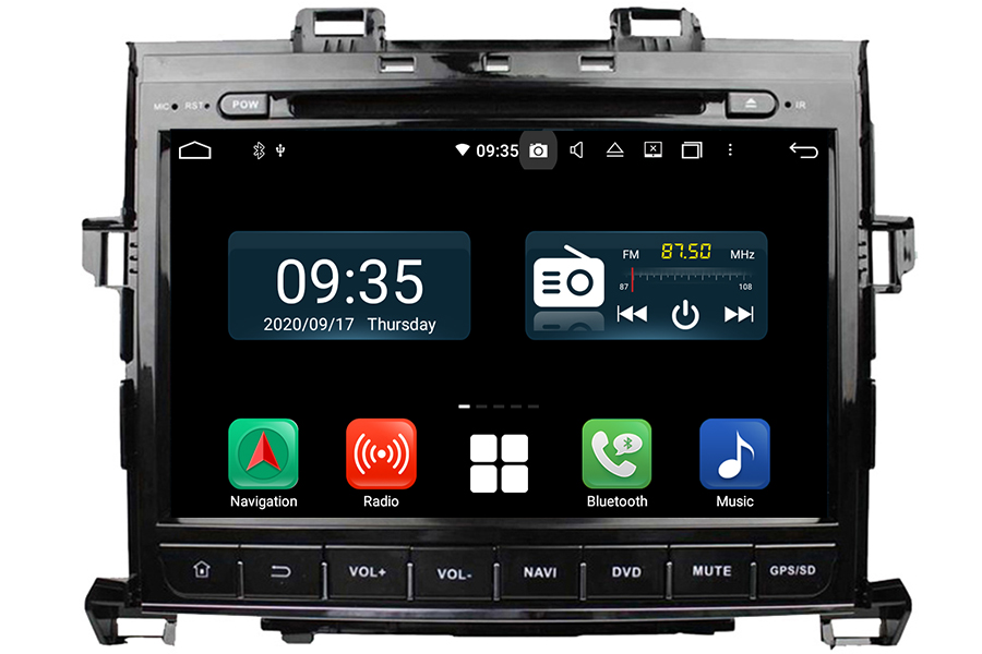 Toyota Alphard 2008-2015 Aftermarket Radio Upgrade