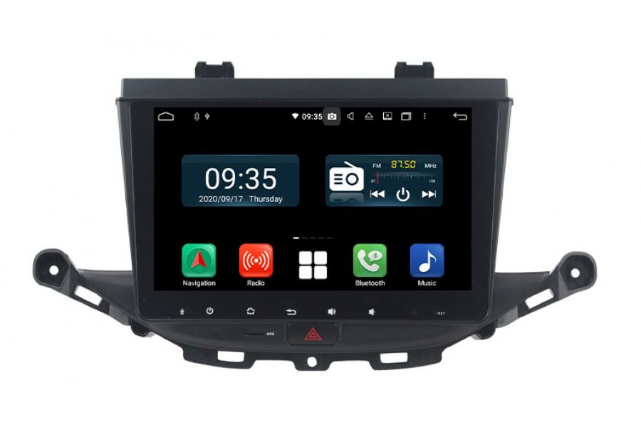 Opel ASTRA K 2016-2017 Aftermarket Radio Upgrade