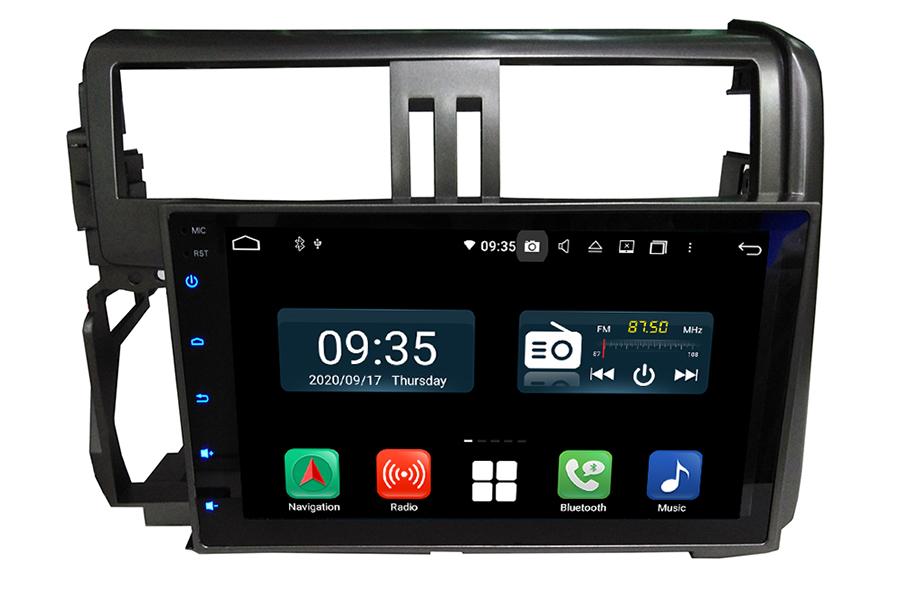Toyota Prado 2010-2013(J150) Aftermarket Radio Upgrade