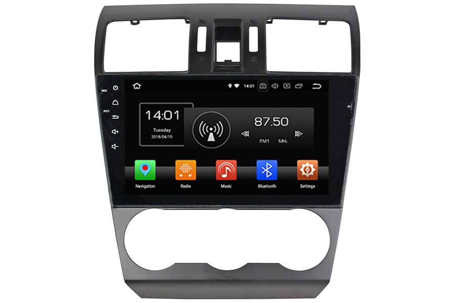 Subaru Forester 2013-2015 Autoradio GPS Aftermarket Android Head Unit Navigation Car Stereo