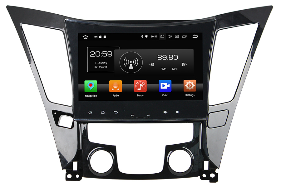 Hyundai Sonata/i40/i45 2011-2013 Autoradio GPS Aftermarket Android Head Unit Navigation Car Stereo