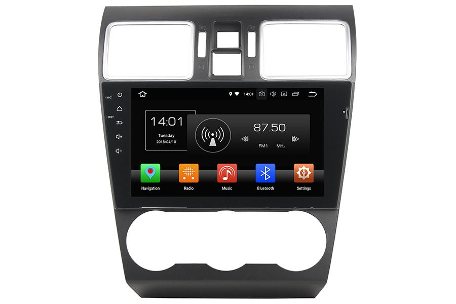 Subaru WRX 2016-2018 Autoradio GPS Aftermarket Android Head Unit Navigation Car Stereo