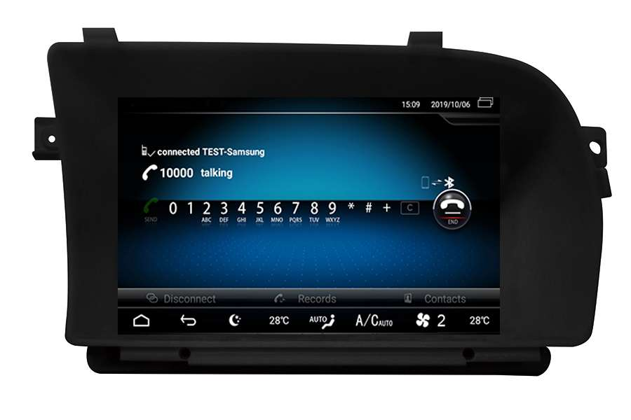 Mercedes-Benz CL-Class (C216)/S-Class (W221) 2006-2013 Autoradio GPS Aftermarket Android Head Unit Navigation Car Stereo