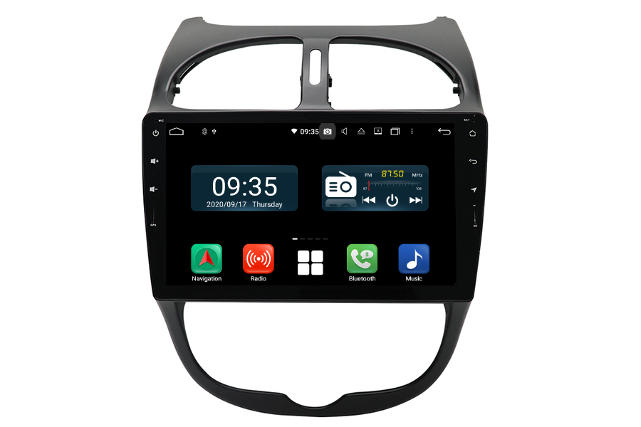 Peugeot 206 2010-2016 Aftermarket Radio Upgrade