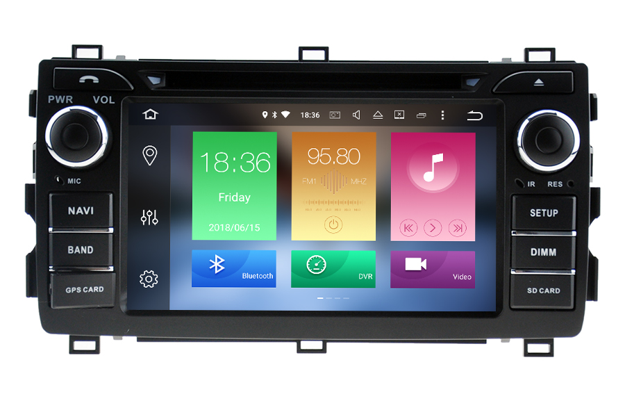 Toyota Auris 2013-2015 Aftermarket Radio Upgrade