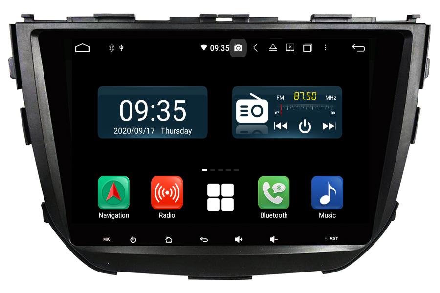 Suzuki Vitara Brezza 2016-2021 Aftermarket Radio Upgrade