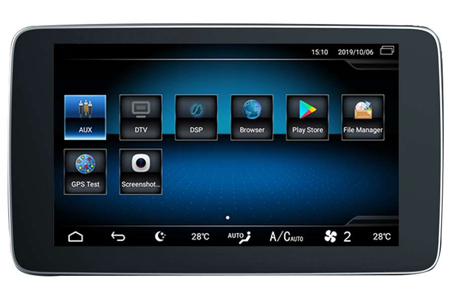 Mercedes-Benz Series 2011-2018 Autoradio GPS Aftermarket Android Head Unit Navigation Car Stereo