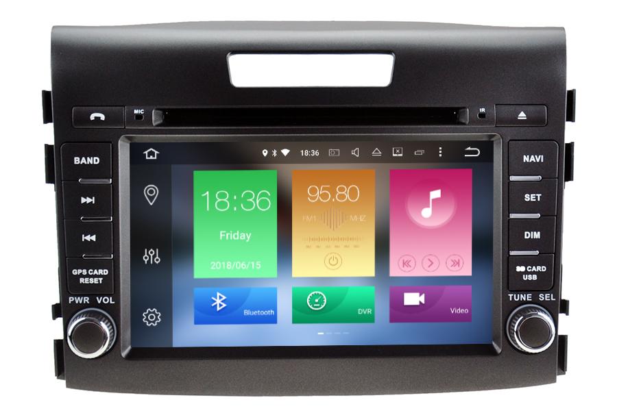 Honda CR-V 2012-2016 aftermarket Navigation Radio upgrade