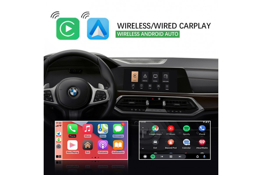 BMW CIC CarPlay/Android Auto/Mirrorlink Integration System