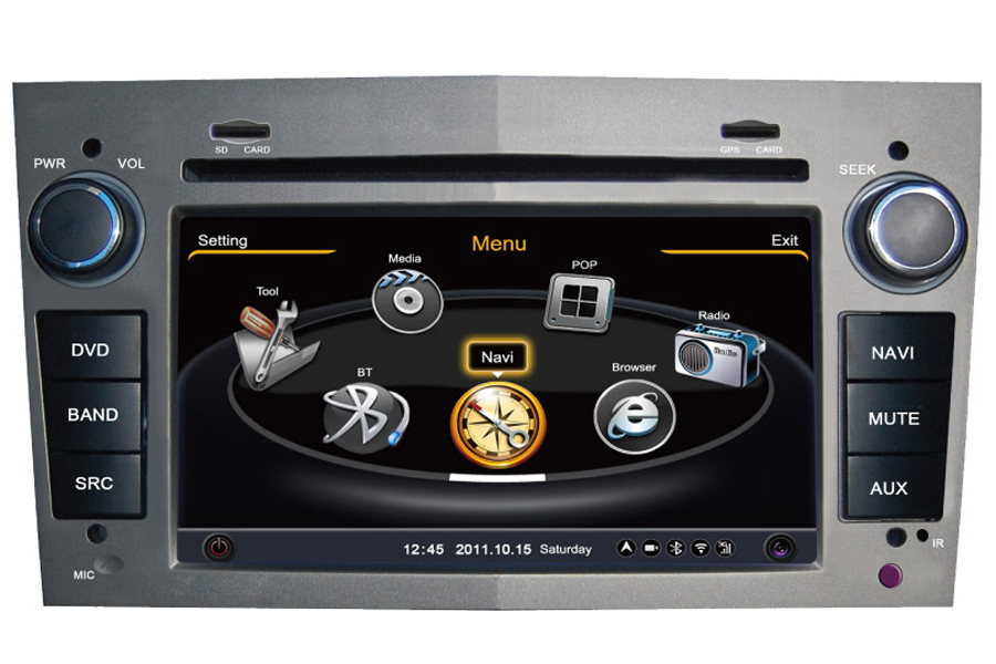 GMC Terrain 2006-2011 Autoradio GPS Aftermarket Android Head Unit Navigation Car Stereo
