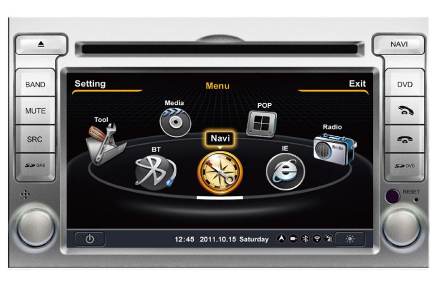 Hyundai i20 2008-2012 Autoradio GPS Aftermarket Android Head Unit Navigation Car Stereo