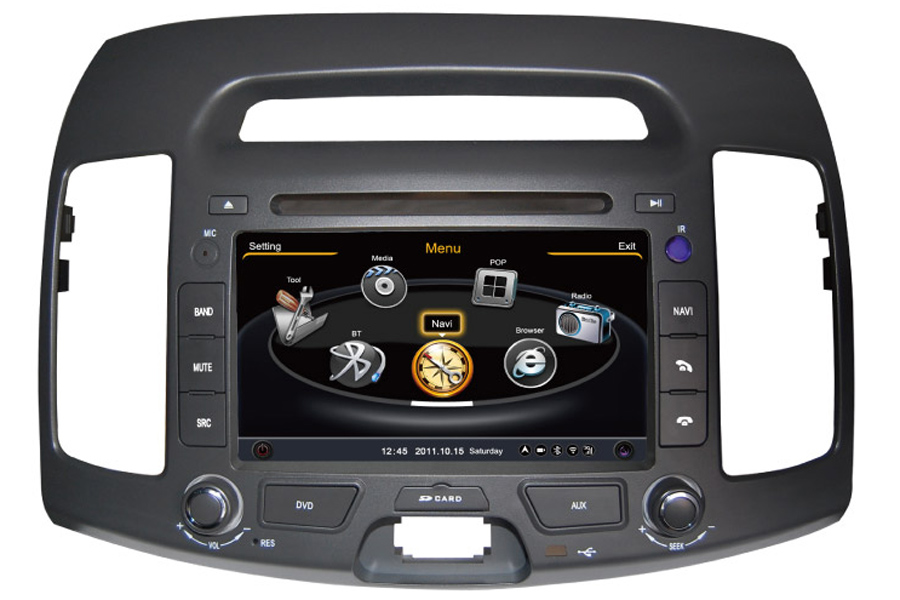 Hyundai Avante/Elantra 2006-2011 Autoradio GPS Aftermarket Android Head Unit Navigation Car Stereo