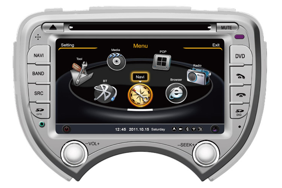Nissan Micra/March/Verita 2010-2012 Autoradio GPS Aftermarket Android Head Unit Navigation Car Stereo