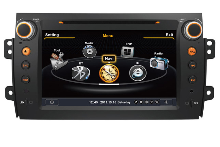 Fiat Sedici 2006-2012 Autoradio GPS Aftermarket Android Head Unit Navigation Car Stereo