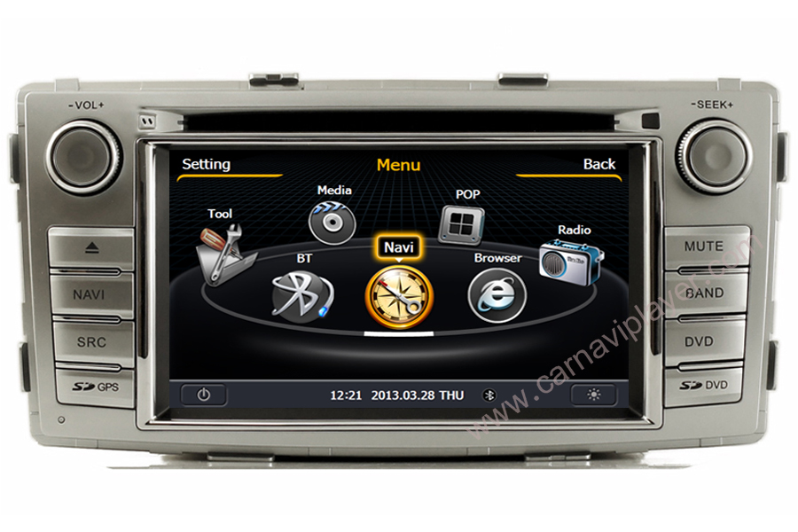 Toyota Hilux 2012-2013 Autoradio GPS Aftermarket Android Head Unit Navigation Car Stereo