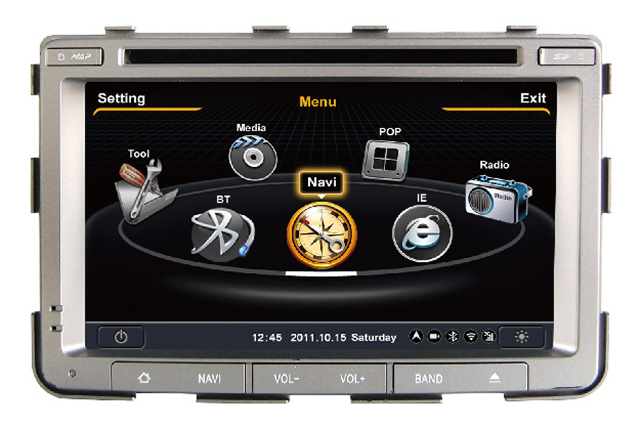 SsangYong Rexton Autoradio GPS Aftermarket Android Head Unit Navigation Car Stereo